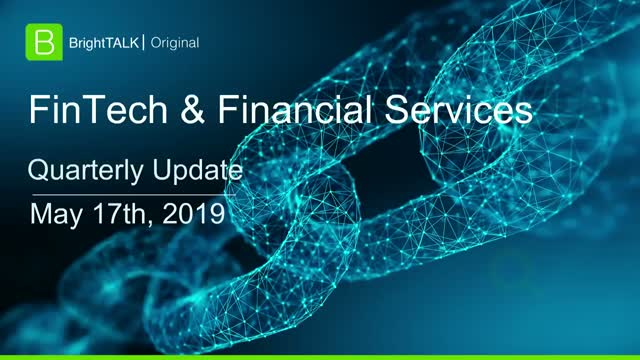 FinTech and Financial Services Community Update
