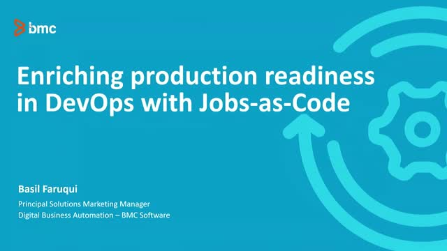 Enriching Production Readiness in DevOps with Jobs-as-Code