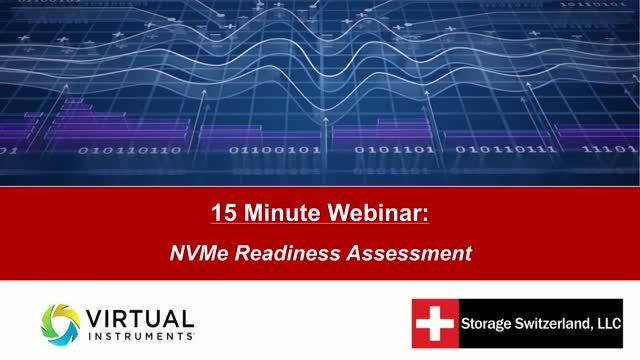 15 Minute Webinar: NVMe Readiness Assessment