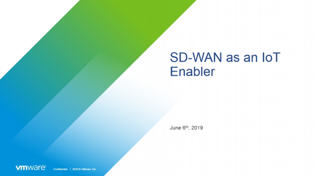 SD-WAN as an IoT Enabler