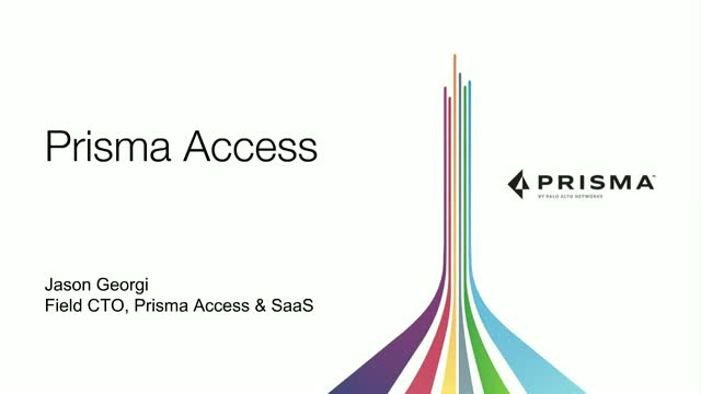 Protecting branch networks and mobile users with Prisma Access