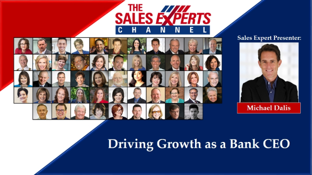 Driving Growth as a Bank CEO