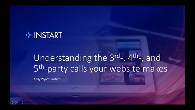 Understanding the 3rd-, 4th-, and 5th- party calls your website makes