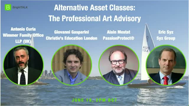 Alternative Asset Classes:  The Professional Art Advisory