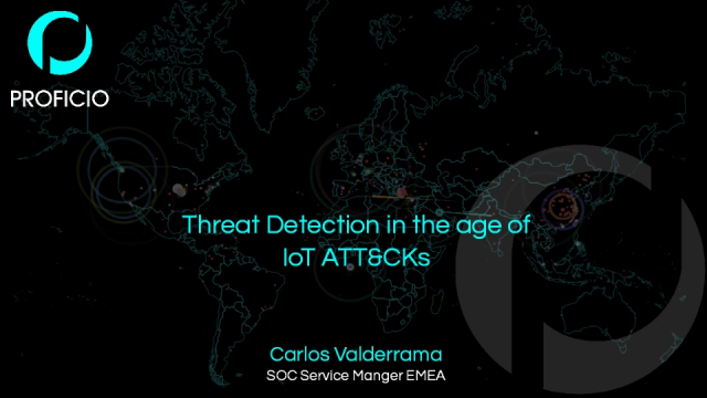 Threat Detection in the age of IoT ATT&CKs