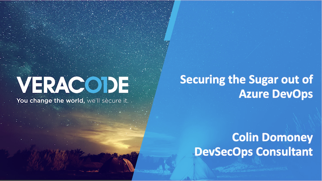 Securing the Sugar out of Azure DevOps Pipeline
