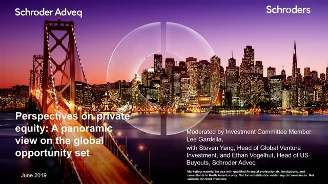 Perspectives on private equity: A panoramic view on the global opportunity set