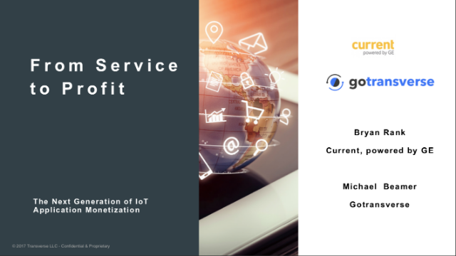 From Service to Profit: The Next Generation of IoT Application Monetization