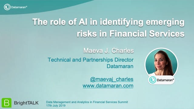 The Role of AI in Identifying Emerging Risks in Financial Services