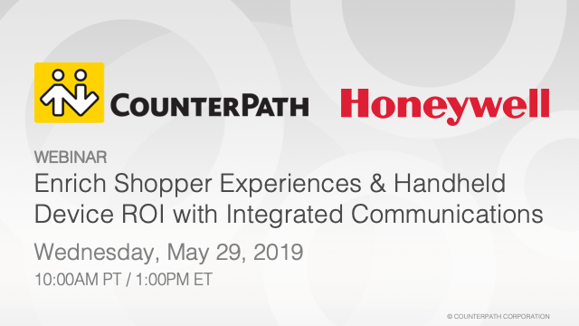 Enrich Shopper Experience & Handheld Device ROI with Integrated Communications