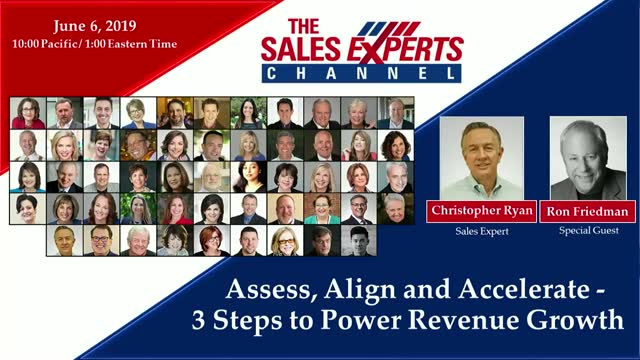 Assess, Align and Accelerate - 3 Steps to Power Revenue Growth
