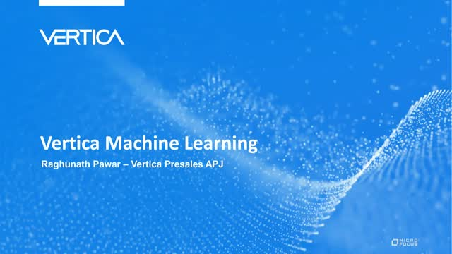 Revolutionize your Analytics using Machine Learning – Data Science using SQL