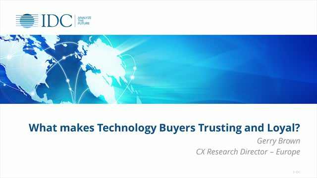 How can you earn technology buyers' trust and loyalty?