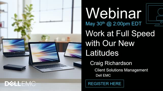 Work at Full Speed with Our New Latitudes
