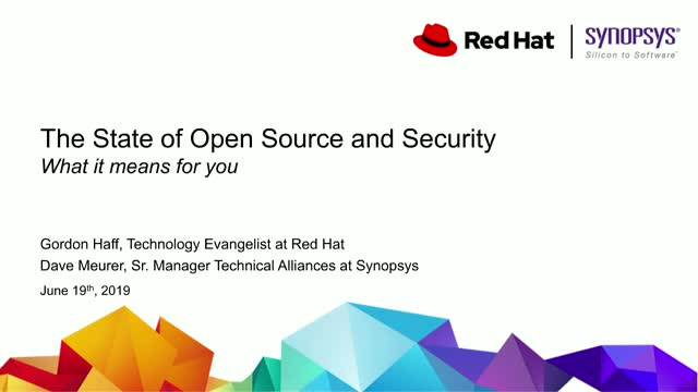 The State of Open Source and Security: What It Means for You