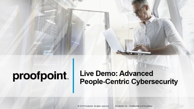 Webisode 6: Proofpoint Demo - Advanced People-Centric Cybersecurity
