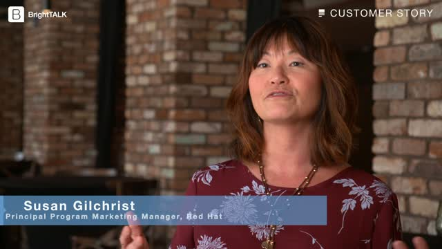 Red Hat uses BrightTALK Summits to build credibility and market awareness