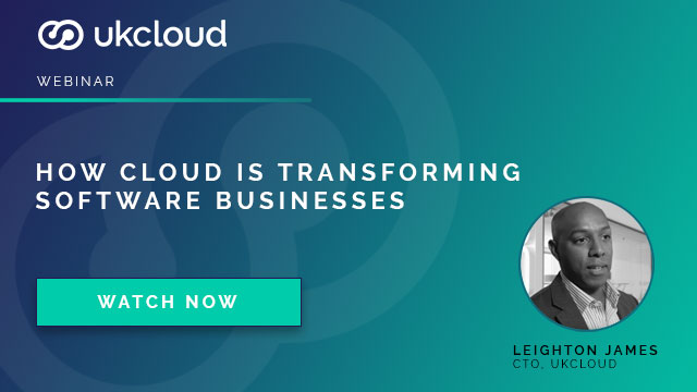 How Cloud is transforming software businesses