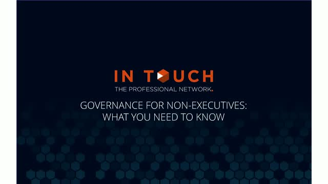 Governance for NEDs - What you need to know