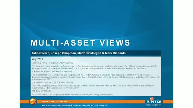 Jupiter Flexible Income Strategy - Multi-Asset Views