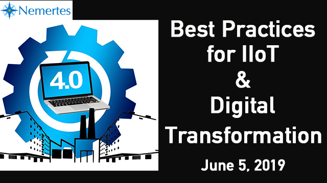 Best Practices for IIoT and Digital Transformation