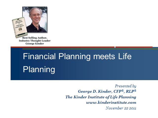The Client Relationship Dividend: Financial Life Planning