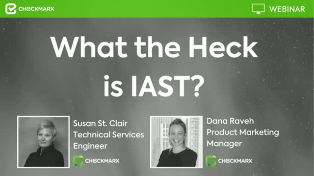 What the Heck is IAST?