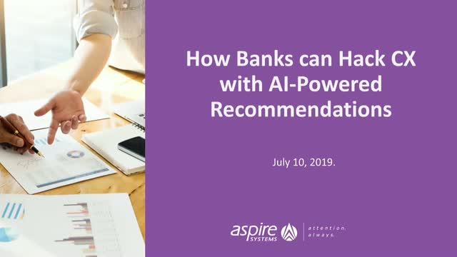 Episode 2 - How Banks Can Hack CX With AI Powered Recommendation
