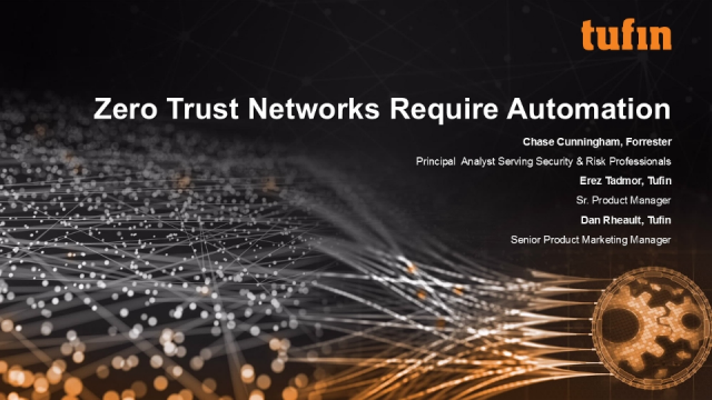 Forrester's Chase Cunningham on Applying Zero Trust Principles to Your Network