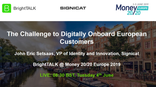 The challenge to digitally onboard European customers