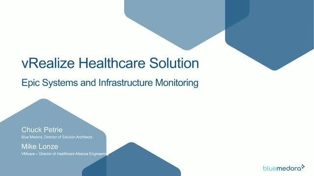 Single and cohesive view into your healthcare IT environment