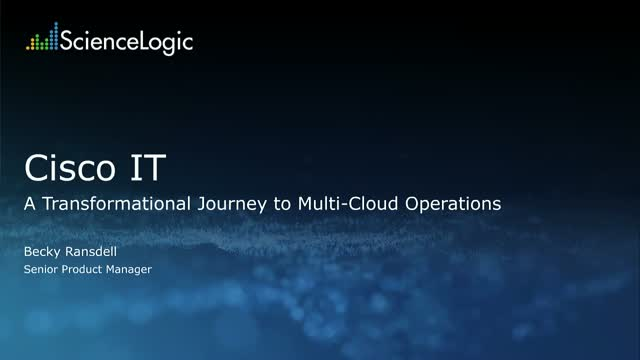 Cisco IT: A Transformational Journey to Multi-Cloud Operations | Multi-Cloud
