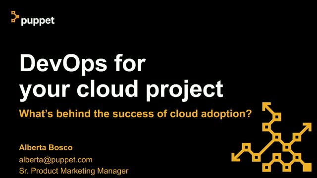 DevOps for Your Cloud Project - What's Behind the Success of Cloud Adoption?
