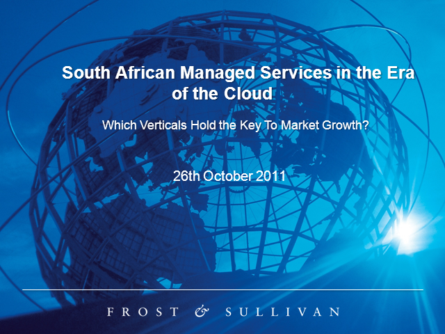 South African Managed Services in the Era of the Cloud