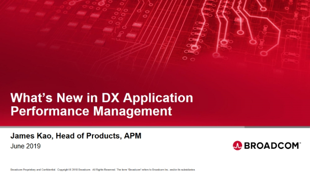 What's New in DX Application Performance Management