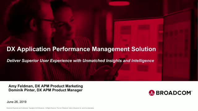 What's New in DX Application Performance Management - EMEA