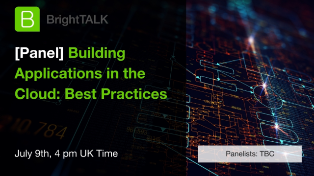 [Panel] Building Applications in the Cloud: Best Practices