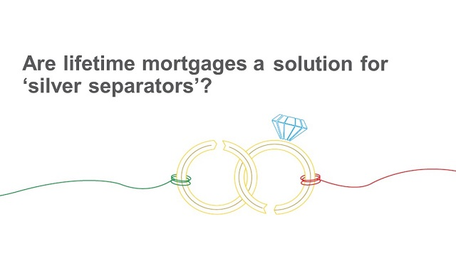Could lifetime mortgages help the 'silver separators'?