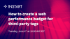 How to create a web performance budget for third-party tags