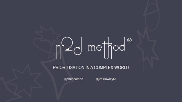 Learn how to prioritise with the N2D Method