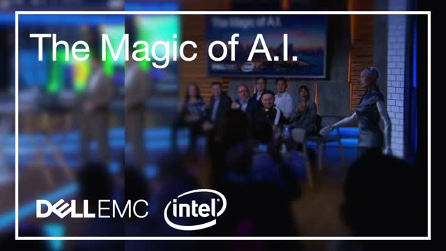 The Magic of AI: Demystify AI with Sophia the Robot and Dell EMC's Thomas Henson