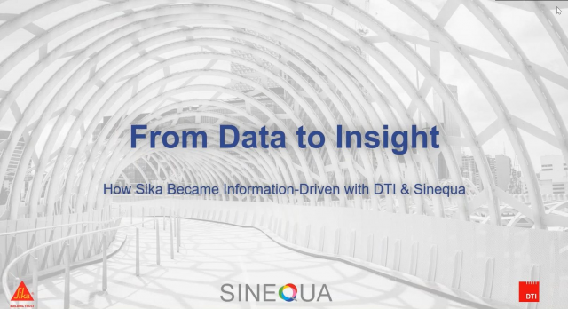 Webcast - How Sika became Information-Driven with AI-Powered Search