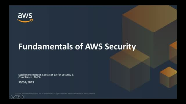 Fundamentals of AWS Security