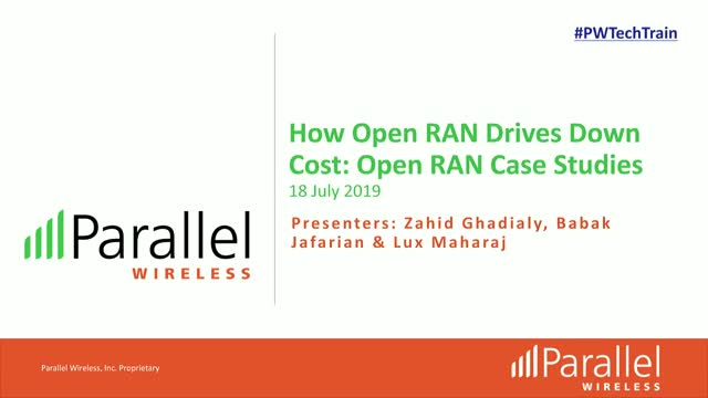 How Open RAN Drives Down Cost: Open RAN case studies