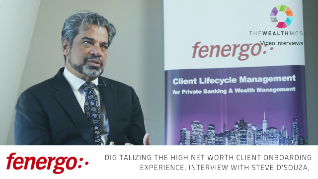 Fenergo: Digitalizing the high net worth client onboarding experience