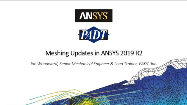 Meshing Updates in ANSYS 2019 R2