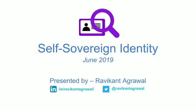 Self-sovereign identity powered by Blockchain