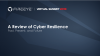 A Review of Cyber Resilience -- Past, Present, and Future