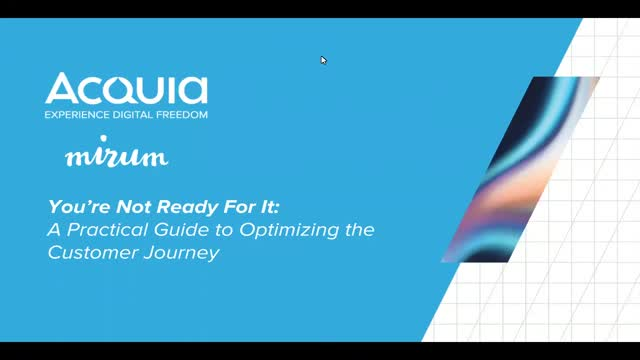 A Practical Guide to Optimizing the Customer Journey