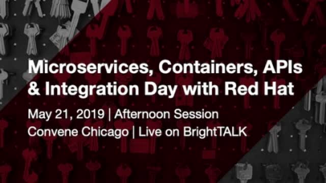 Closing Remarks - Microservices, Containers, API's an Interation Day